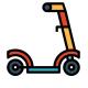 Самокат двухколёсный