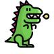 Динозавры и драконы на батарейках
